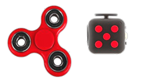 Fidget Spinner and Cube Novelty Items